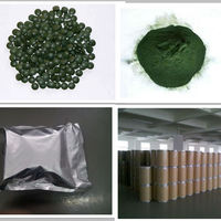 Natural Spirulina Algae Powder