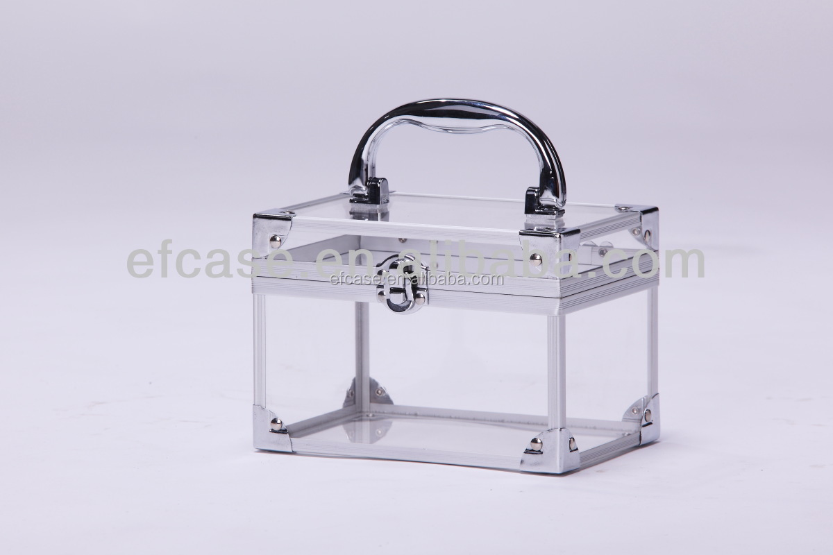 Transparent Acrylic Cosmetic Case Makeup Case Beauty Box