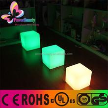 LED Cube Chair LED Cube LED Furniture Bar Table/LED Square Cube/3D LED Cube Light