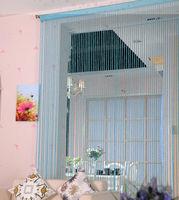 design string fringe curtains for living room