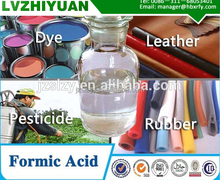 Formic acid for Leather/rubber/textile/paper industry