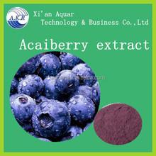 Natural Anthocyanosides Acai cake berry extract / Acai berry P.E. / Acai berry powder