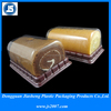 Food grade PET tray for cake plastic container with lid