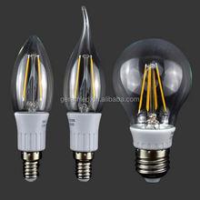 ABS plastic filament c35ta e12 led light incandescent