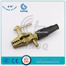 British type brass cable clamp 500A for welding&cutting machine#