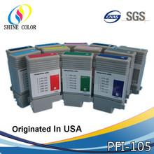 High Quality Compatible Ink Cartridge PFI105 PFI 105 for Canon Printer ipf 6300/6350/6400/6450 inkjet