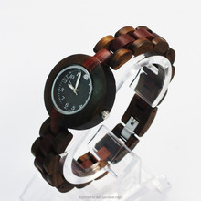 Natural Red Sandalwood Wooden Watch Wrist Watch Women watches