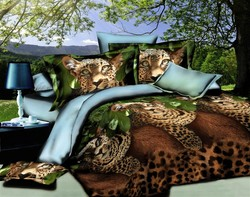 Factory 5D/3D Bedding Set Bed Cover Popular Sexy Bed Sheet Pillow Cover