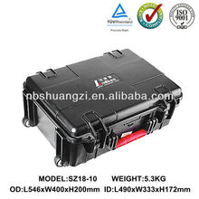 Plastic Case with Compartments foam for Equipment /wonderful case IP67