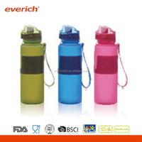 Traveling Collapsible Water Bottle, Silicone Drink Bottle, Folding Water Bottle