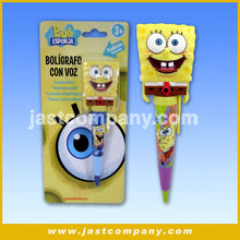 Sponge Bob Plastic Promotion 3D Topper Pen with Music