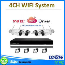 wifi ip camera with wifi repeater 4channel wireless bluetooth parking camera system