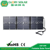 40W sunpower solar foldable panel solar bicycle charger bag