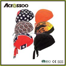 Motorcycle Biker Skull Caps / Head Wrap Do Rags / Bandanas