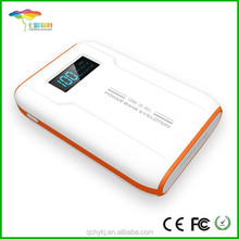 LCD Display Cell Phone Charger 18650 Battery Power Bank 6000mah with Dual USB