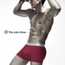 Regalo de la promoción 100% pantalones cortos de color al por mayor boxer shorts para hombre