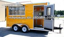 Mobile Food Vending Camping JX-FS400D fast food truck for sale