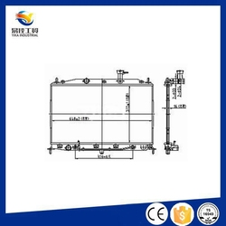 High Quality Cooling Parts Auto Cast Iron Radiator Parts 25310-0M150