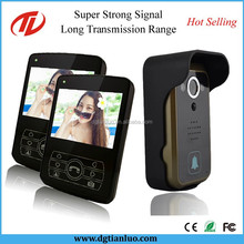 Door Entry Long Distance Wireless Intercom Video System with Camera