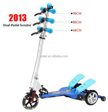 New Stepper scooter/kick foot scooter/dual-pedal kick scooter