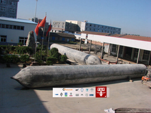 Best quality china pneumatic rubber floating airbag ship launch