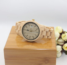 Fashion new model vogue wood watch 2015 wholesale sandal watch wood bamboo wooden watches for man