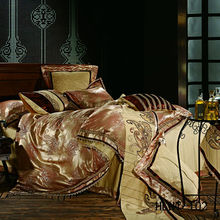 Silk cotton nobility bed cover set