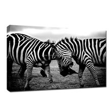 Black And White Zebra Painting For Wall Decoration