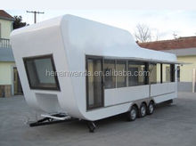 2015 new design mobile Luxurious food van