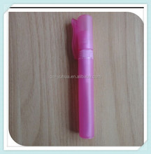 2015 top quality new style non spill wholesale 10ml plastic pen atomizer for perfume