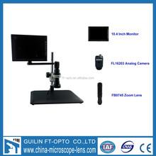 Camera China made monocular Zoom MICROSCPE and LCD Monitor