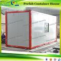 20ft/40ft movible cabine casa del envase