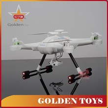 New arrival 2.4G 4channel mini rc white frame quadcopter propeller with camera