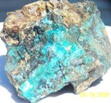 Copper Ore, 60% Copper content