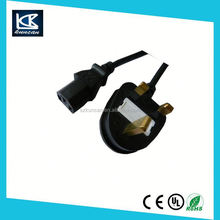 british standard electrical cable H05VV-F 3G1.0mm2 Power cords