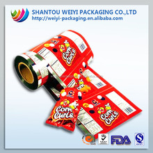 High quality film rolll made empty sachet different material
