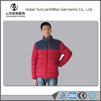 high quality cotton padded winter coat for men