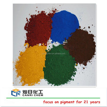 iron oxide types/colorant asphalt/paint bricks