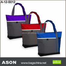 Best selling promotional convenient woman shopping bag