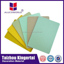 Alucoworld best quality excellent attractive design aluminum composite panel acp acm for clading