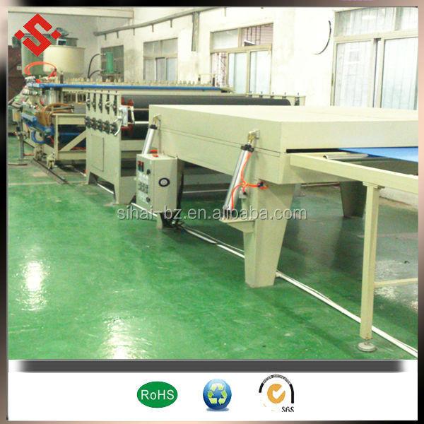 pp plastic production line