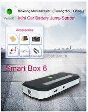 Thin Car Emergency Power bank, battery charger 8000mAh slim Mini Jump Starter 12v car jump starter Power Bank for Car Jump Start