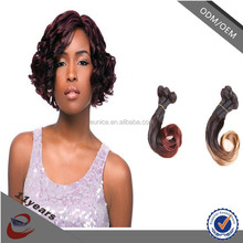 Top Quality Virgin Human Fumi Hair,Posh Curly Hair extension