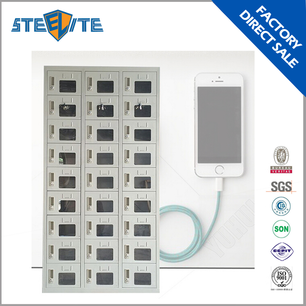 Public Multiple Mobile Phone Charging Station Locker Cell