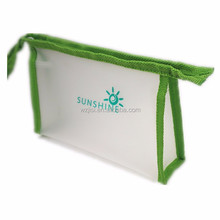 clear travel pvc cosmetic bag