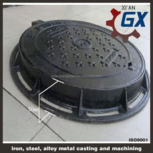 oil tank manhole cover with mould and lock