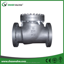 Cast steel mini swing check valve for faucet