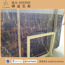 Black and gold natural stone,interior decoration wall coating marble tile