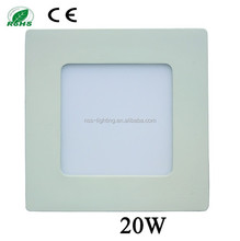 Most competitive price factory direct sale 20w led light panel manufacturers bright led recessed ceiling panel down light