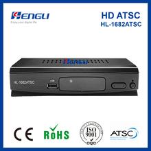 high quality new design! ATSC digital set top box hd tv decoder
